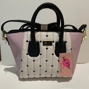 Luv Betsey Johnson Handbag Satchel. LBGISEL NWT